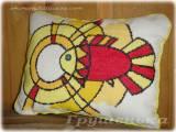 Вышивка. Золотая рыбка