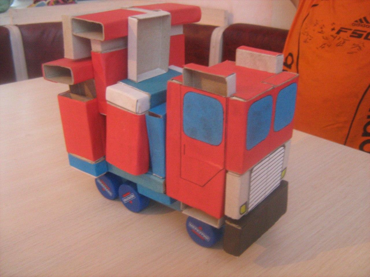 Робот из коробок своими руками фото для