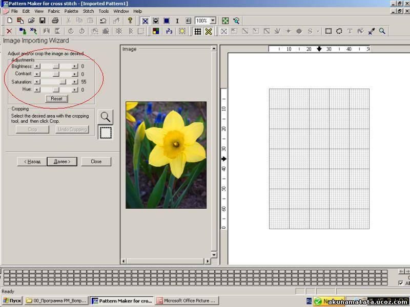 Программа для вышивки крестом pattern