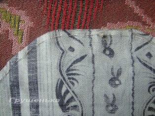 Оформление вышивки