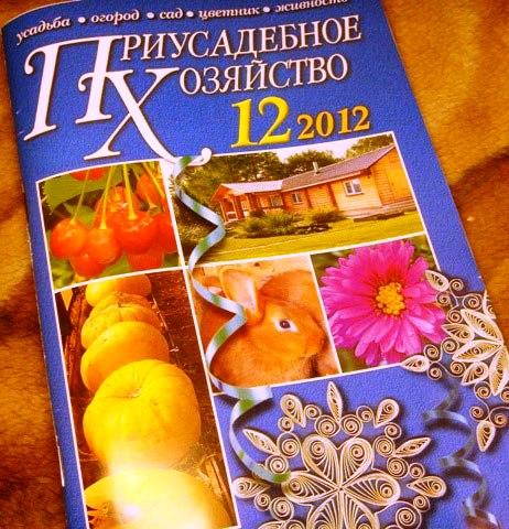 журнал Приусадебное хозяйство №12