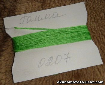 Хранение ниток для вышивания
